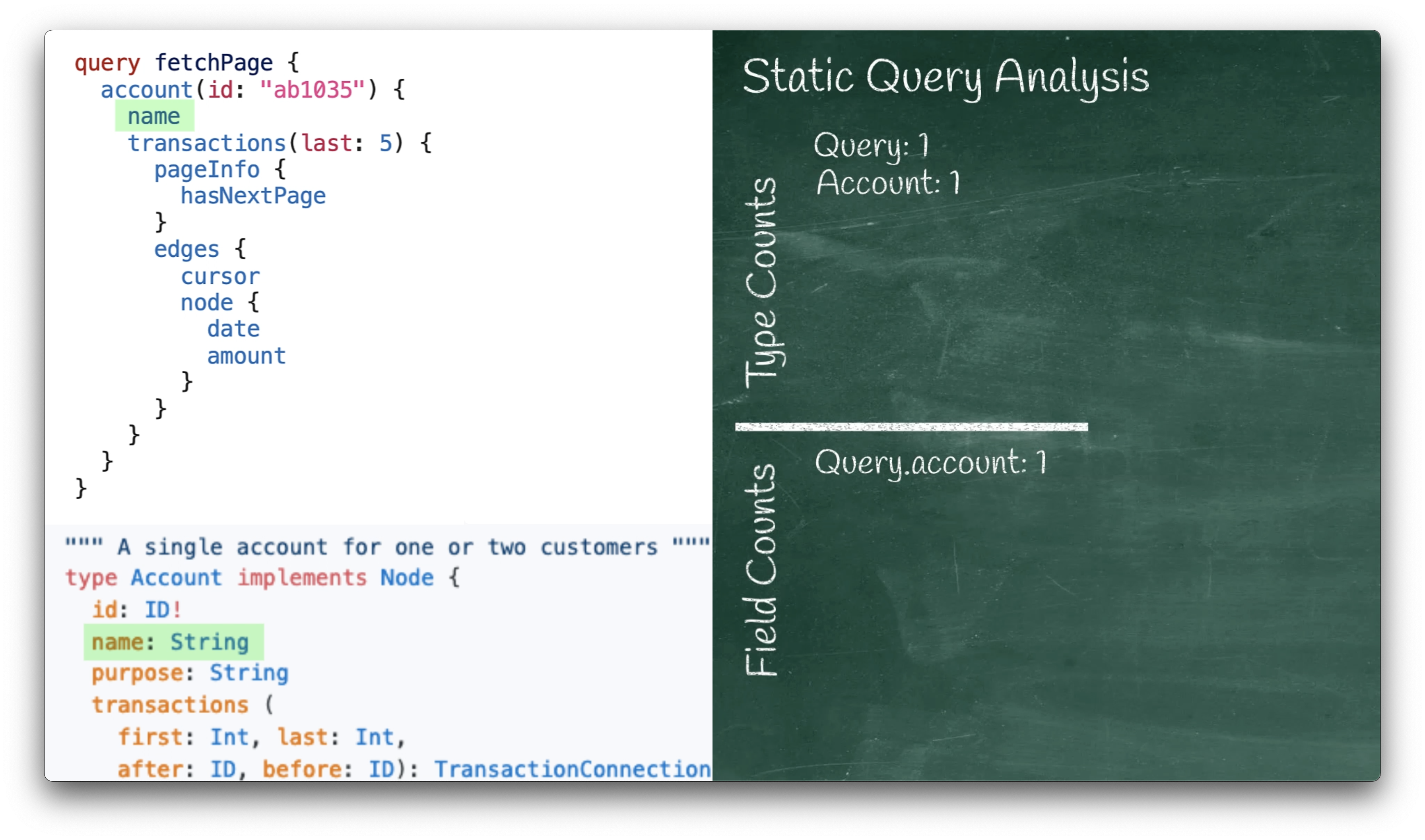 Static Query Analysis Timestep 3